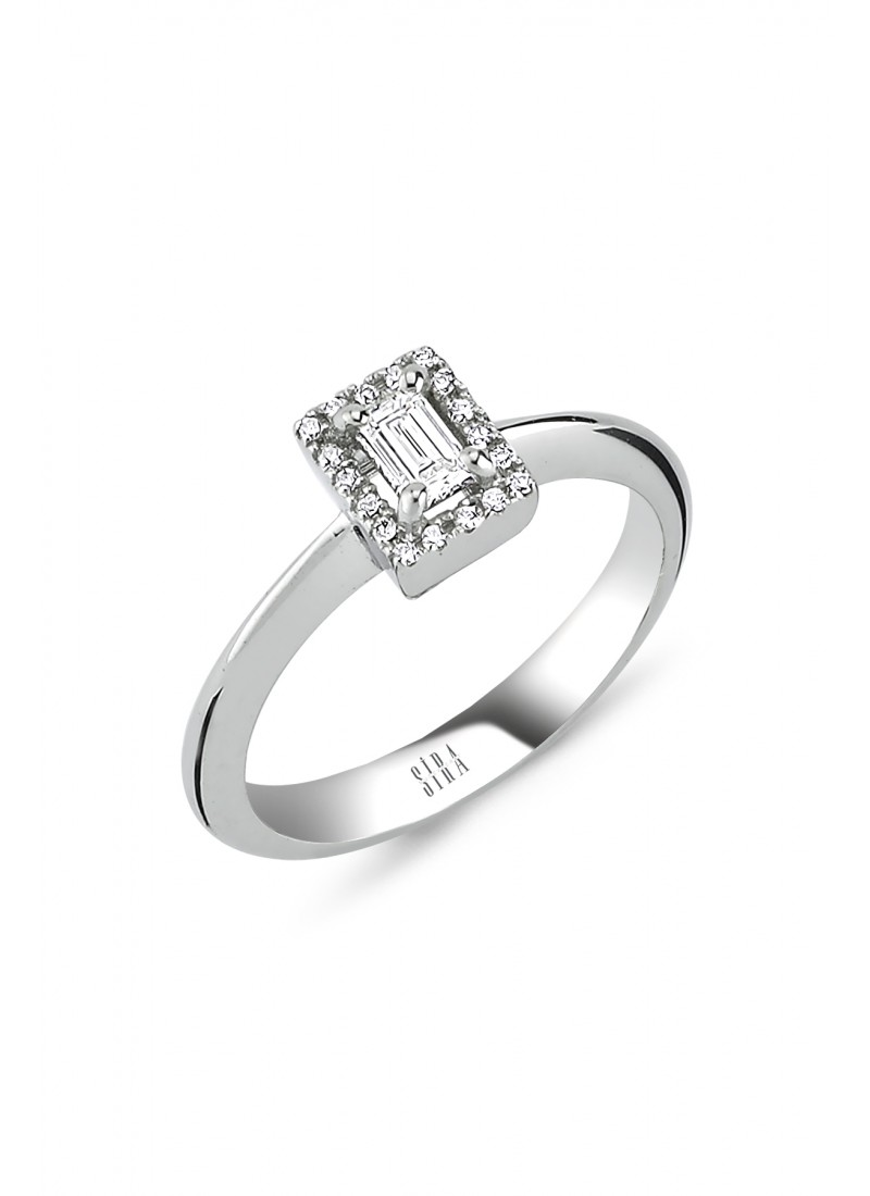 Jewelry Ring - White Gold