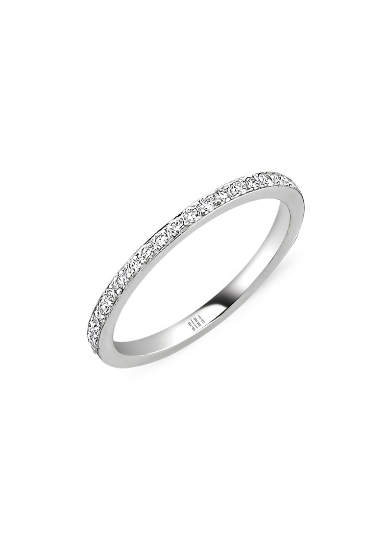Wedding Ring - White Gold
