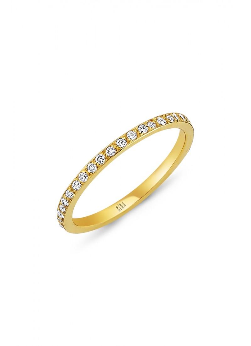 Wedding Ring - Green Gold