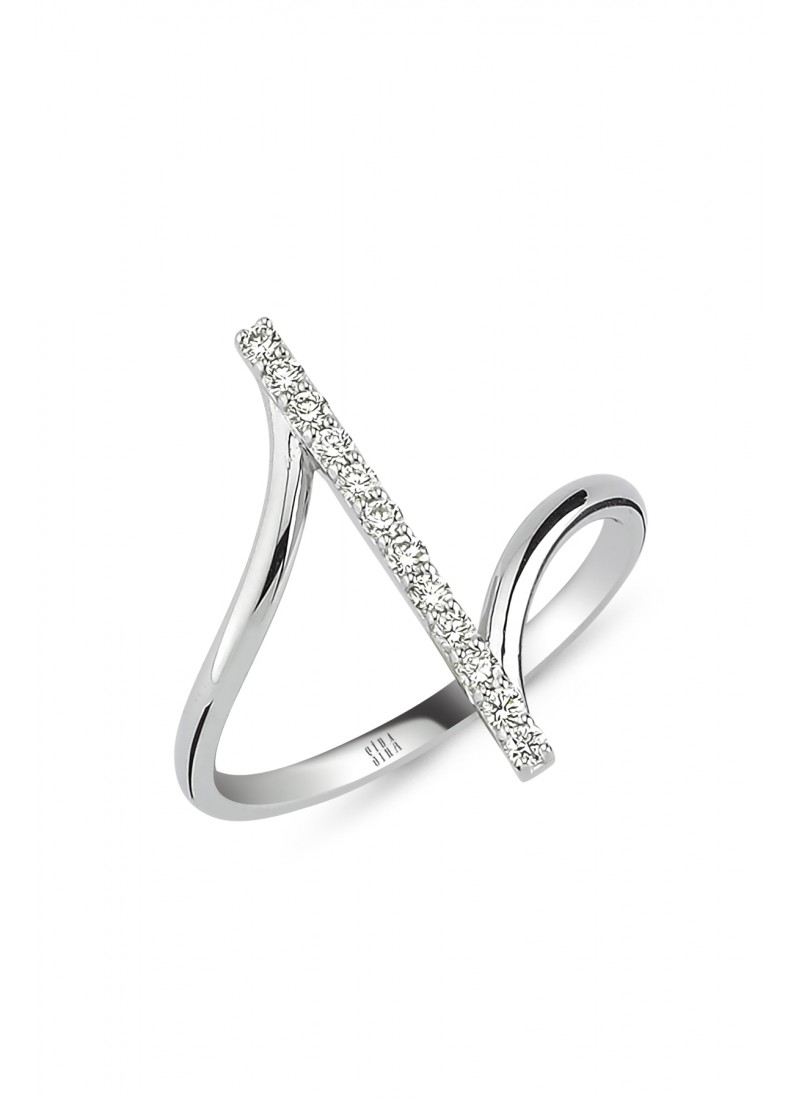 Z Ring - White Gold