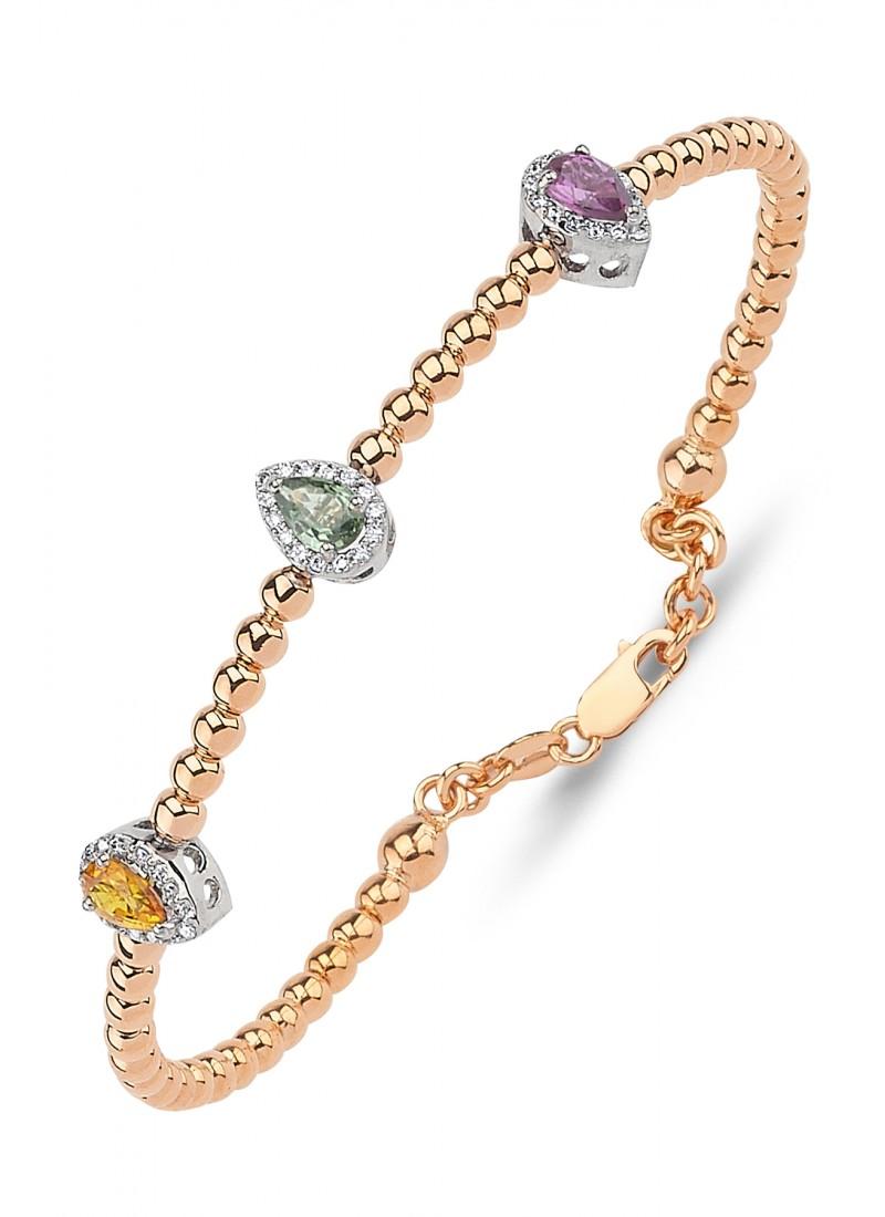 Drop Bracelet - Rose