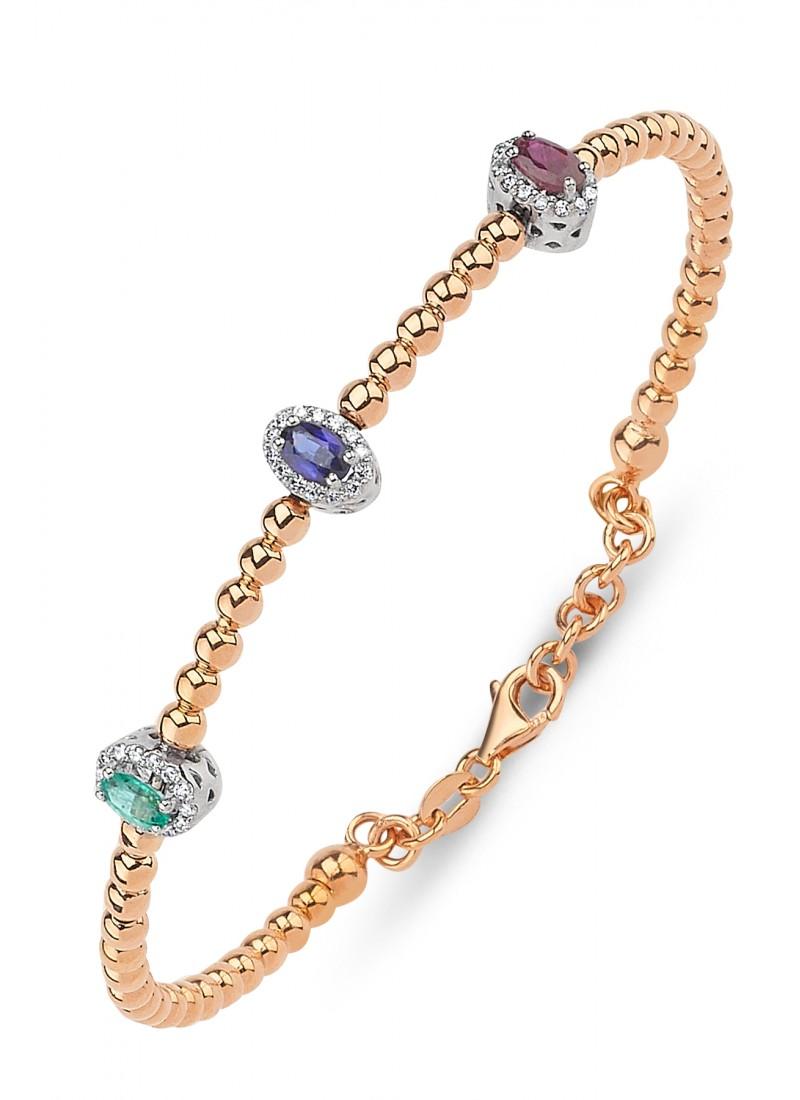 Oval Bracelet - Rose