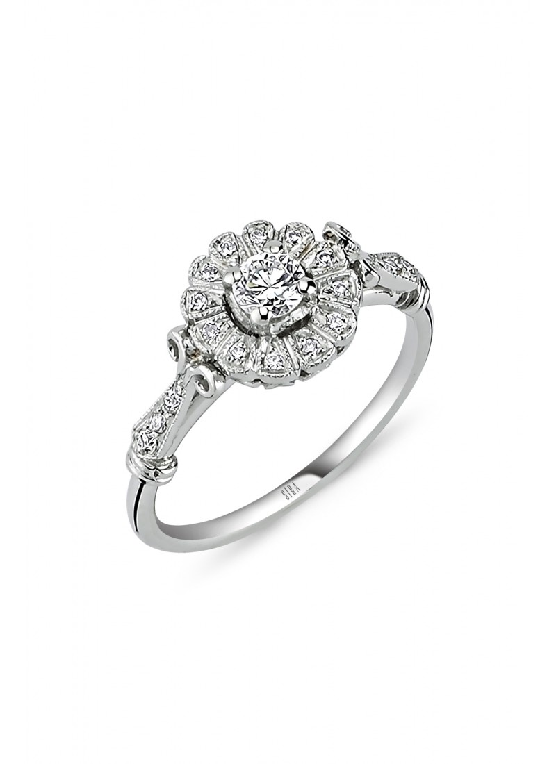 Classic Ring - White Gold