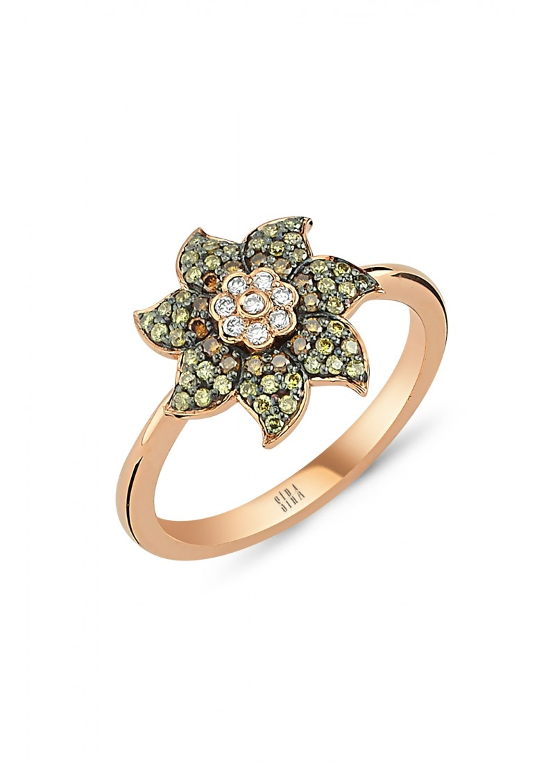 Wind Rose Ring - Rose