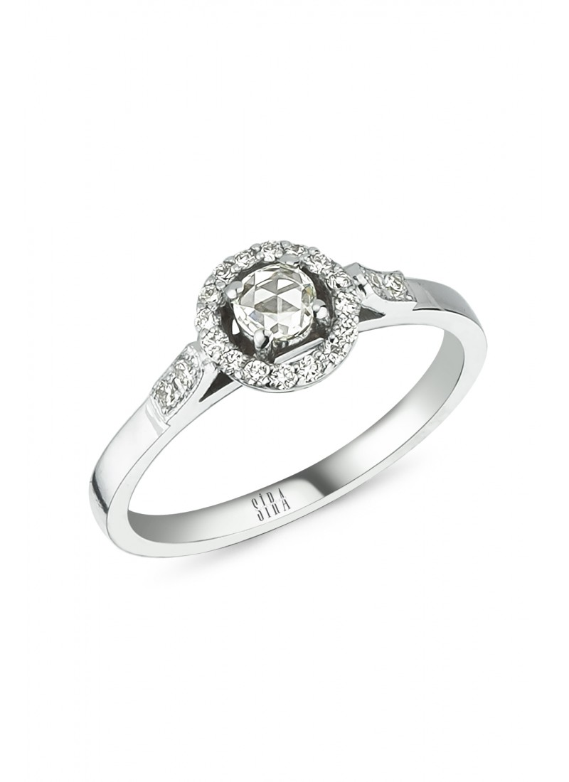 Diamond Ring - White Gold