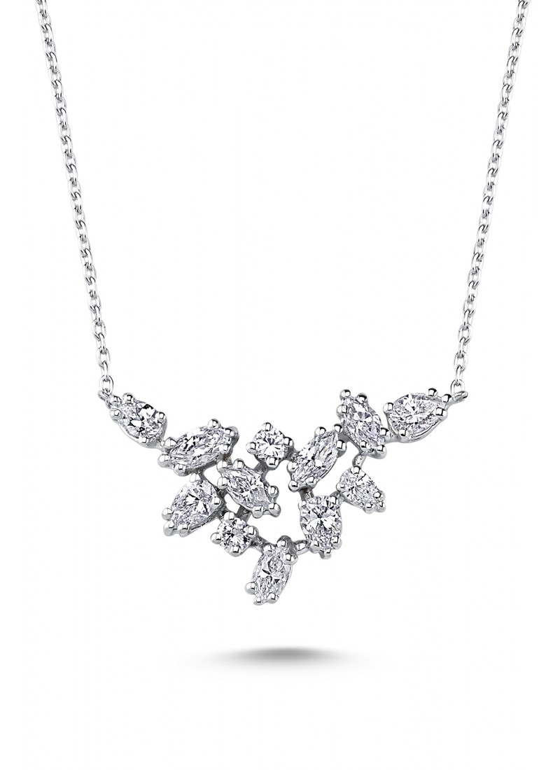 Nyks Necklace - White Gold