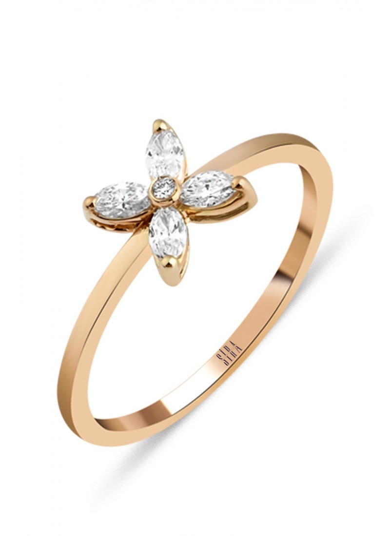 Sparkle Ring - Rose
