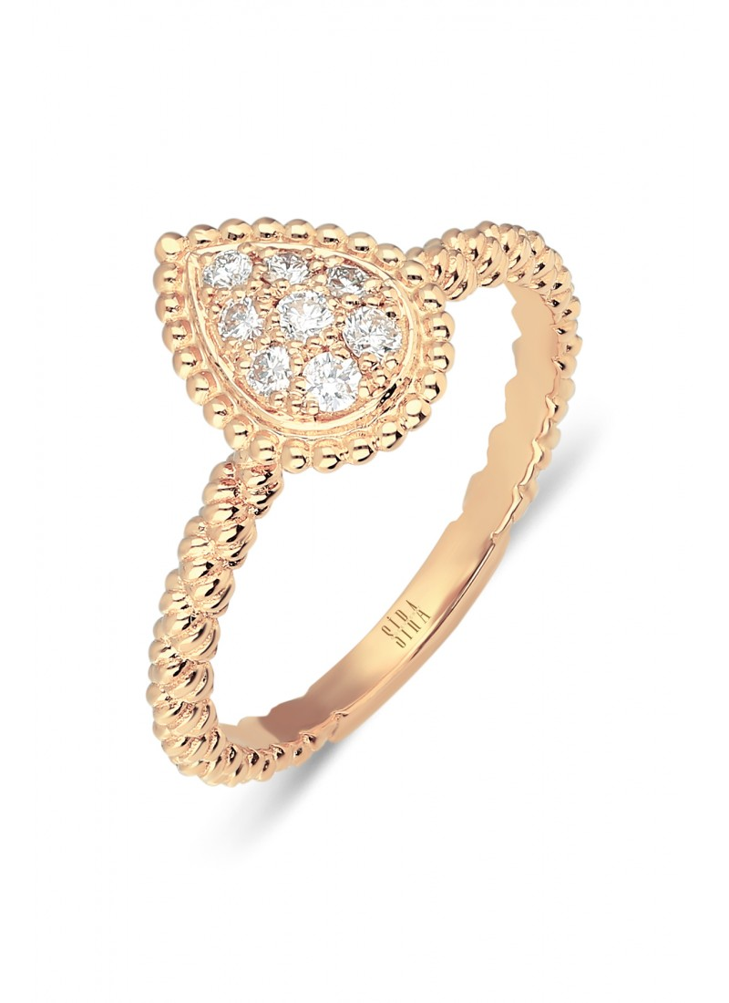 Rope Ring - Rose