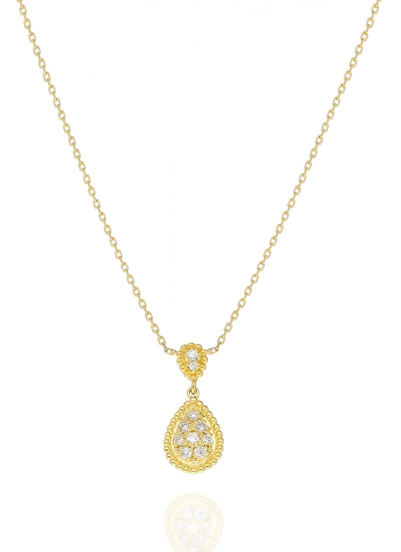 Rope Necklace - Yellow Gold