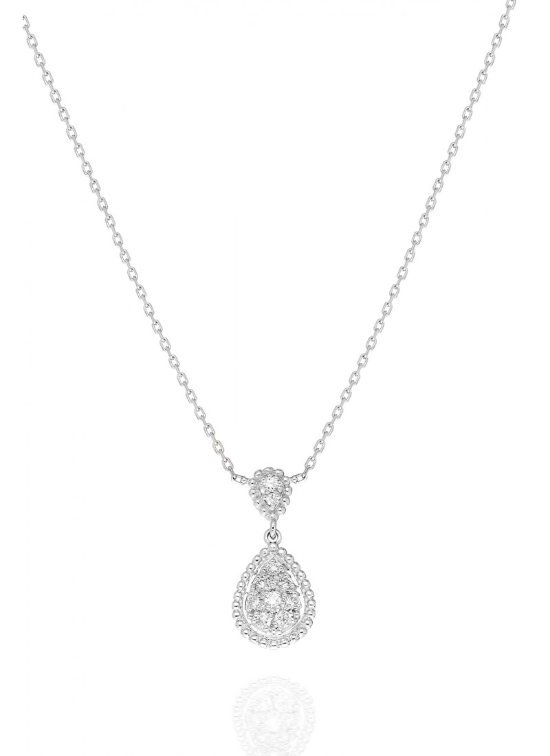 Rope Necklace - White Gold