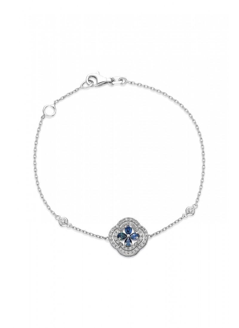 In-line Ring - Rose