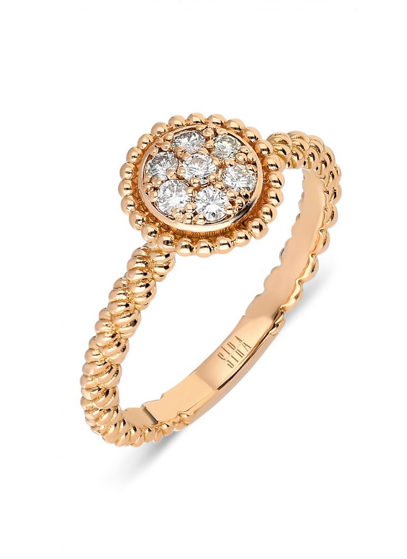 Circle Ring - Rose