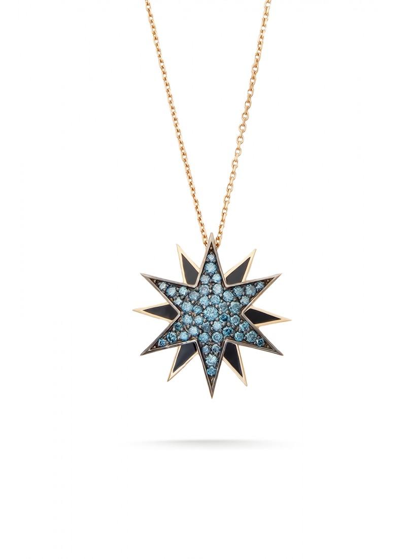 Pole Star Necklace - Rose