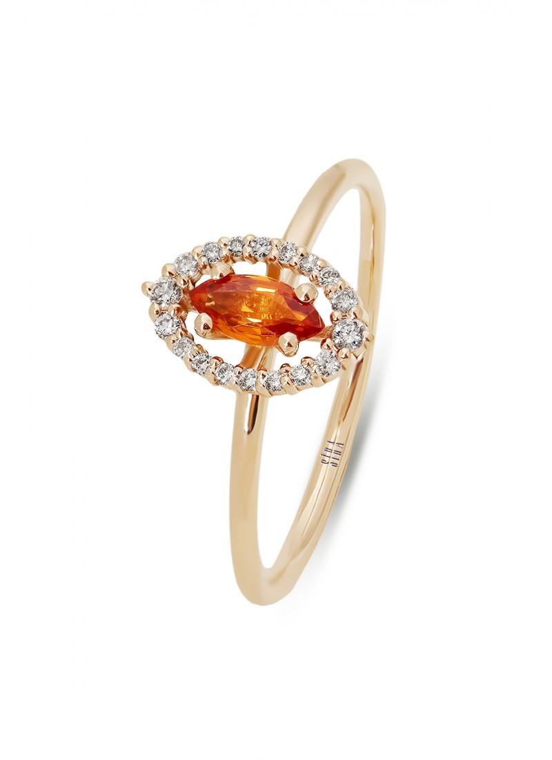 Charm Ring - Rose