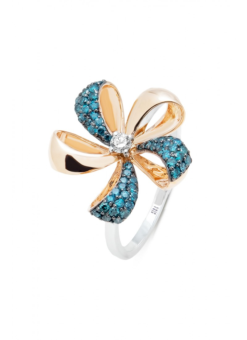 Bow Ring - Rose