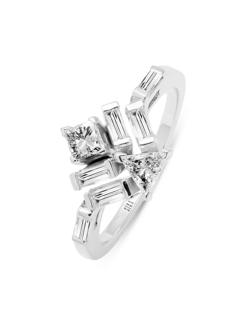 Triangle Ring - Rose